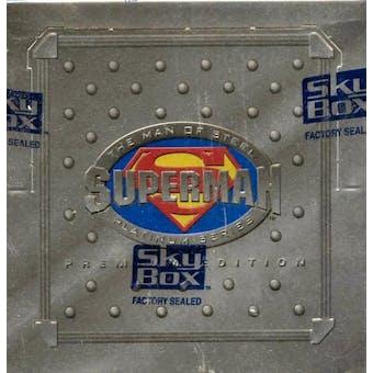 Superman Man of Steel Platinum Series Hobby Box (1994 Skybox)