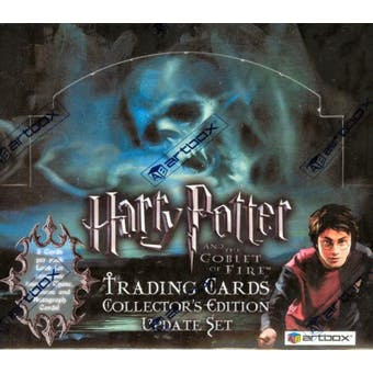 Harry Potter and The Goblet of Fire Update Hobby Box (2006 Artbox)