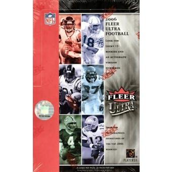 2006 Fleer Ultra Football Hobby Box (Upper Deck)