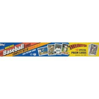 1993 Topps Micro Baseball Factory Set