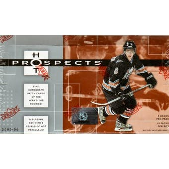 2005/06 Fleer Hot Prospects Hockey Hobby Box (Upper Deck)