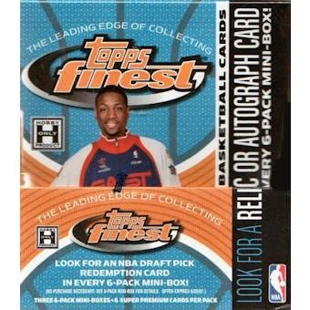 2005/06 Topps Finest Basketball Hobby Box