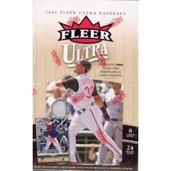2006 Fleer Ultra Baseball Hobby Box (Upper Deck)
