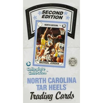 1989/90 Collegiate Collection North Carolina Series 2 Basketball Box