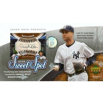 2006 Upper Deck Sweet Spot Baseball Hobby Box