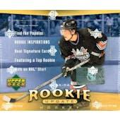 2005/06 Upper Deck Rookie Update Hockey Hobby Box