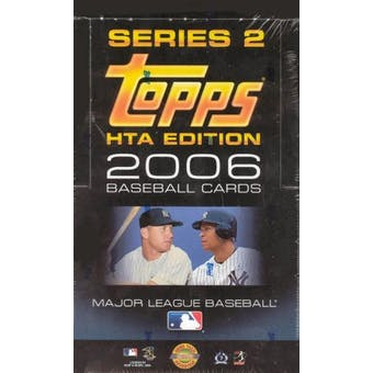 2006 Topps Series 2 Baseball Jumbo Box