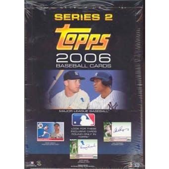 2006 Topps Series 2 Baseball Rack Box