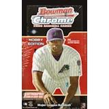 2006 Bowman Chrome Baseball Hobby Box (Reed Buy)
