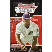 2006 Bowman Chrome Baseball Hobby Box (Reed Buy)