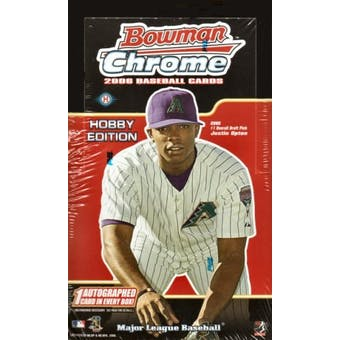 2006 Bowman Chrome Baseball Hobby Box