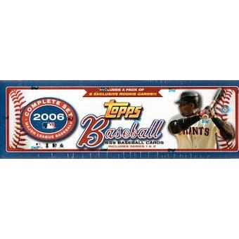 2006 Topps Factory Set Baseball Hobby (Box)