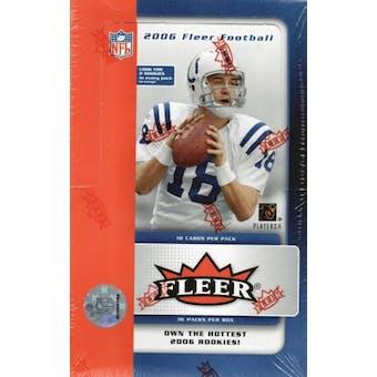 2006 Fleer Football Hobby Box (Upper Deck)