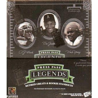 2006 Press Pass Legends Football Hobby Box
