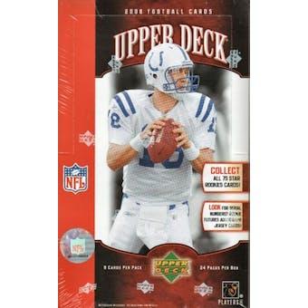 2006 Upper Deck Football Hobby Box