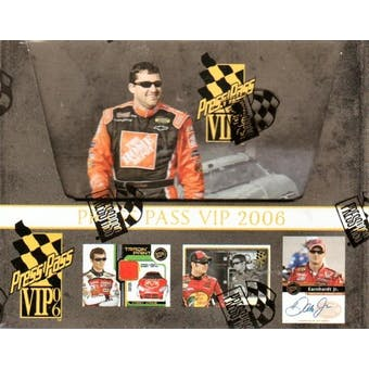2006 Press Pass VIP Racing Hobby Box