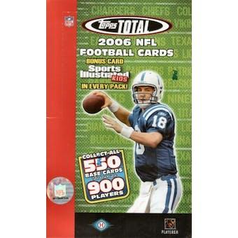 2006 Topps Total Football Hobby Box