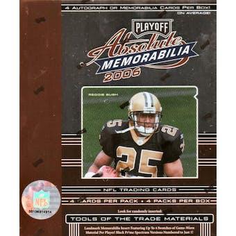 2006 Playoff Absolute Memorabilia Football Hobby Box