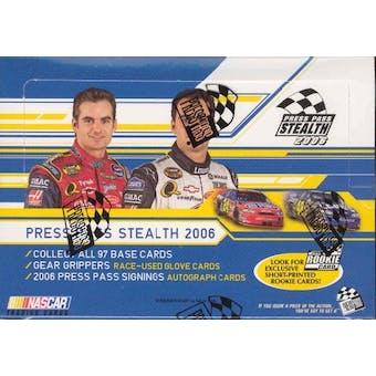 2006 Press Pass Stealth Racing Hobby Box