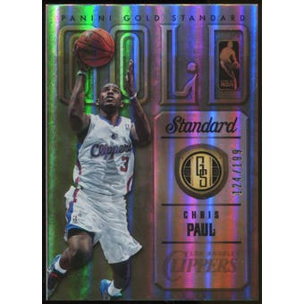 2012-13 Panini Gold Standard Gold Standard Insert #1 Chris Paul Serial #124/199