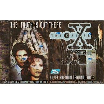 X-Files Series 1 Hobby Box (1995 Topps)