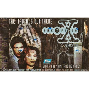 X-Files Series 1 Hobby Box (1995 Topps) (Reed Buy)