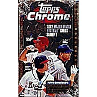 2002 Topps Chrome Series 2 Baseball Hobby Box