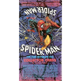 Spider-Man Series 1: The McFarlane Era Hobby Box (1992 Comic Images)