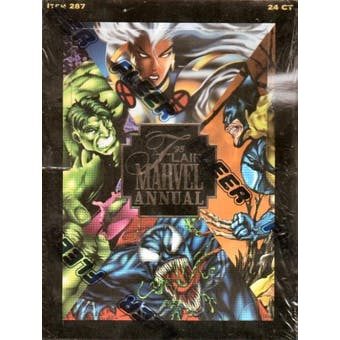 Marvel Annual Hobby Box (1995 Flair)