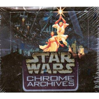 Star Wars Chrome Archives Hobby Box (1999 Topps)