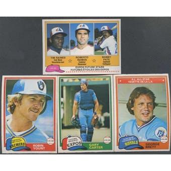 1981 O-Pee-Chee Baseball Complete Set (NM-MT)