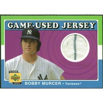 2001 Upper Deck Decade 1970's Game Jersey #JBM Bobby Murcer