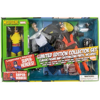 Marvel Wolverine 8 Inch Mego Style Retro Action Figure Set
