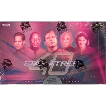 Star Trek 40th Anniversary Trading Cards Box (Rittenhouse 2006)