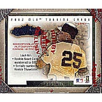 2002 Fleer Showcase Baseball Hobby Box