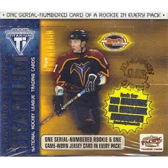 2001/02 Pacific Titanium Draft Day Hockey Box