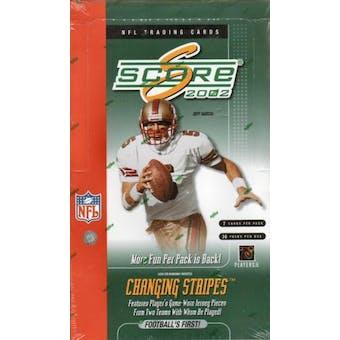2002 Score Football Hobby Box