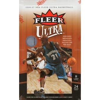 2006/07 Fleer Ultra Basketball Hobby Box (UD)