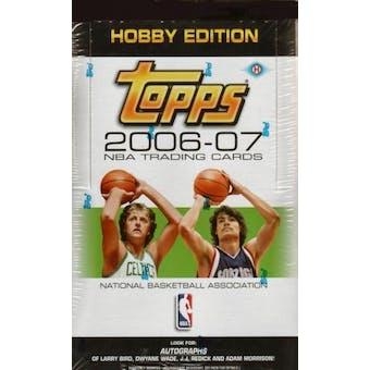 2006/07 Topps Basketball Hobby Box