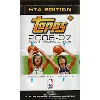 2006/07 Topps Basketball Jumbo Box