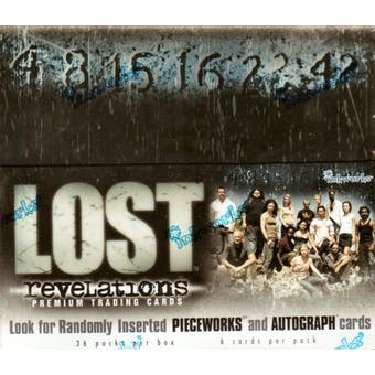 LOST Revelations Hobby Box (2006 Inkworks)