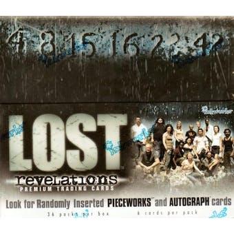 LOST Revelations Hobby Box (2006 Inkworks)