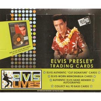 Elvis Lives 24-Pack Box (2006 Press Pass)