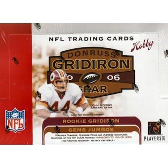 2006 Donruss Gridiron Gear Football Hobby Box