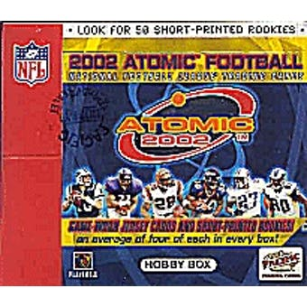 2002 Pacific Atomic Football Hobby Box