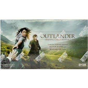 Outlander Season One Trading Cards Hobby Box (Cryptozoic 2016)