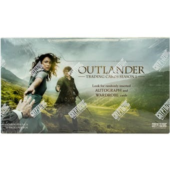 Outlander Season One Trading Cards Hobby Box (Cryptozoic 2016)