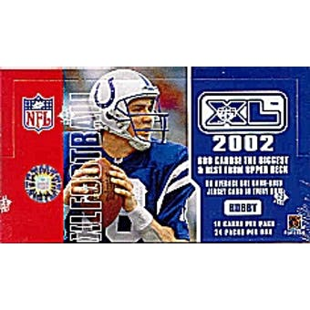 2002 Upper Deck XL Football Hobby Box