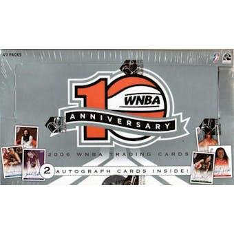 2006 Rittenhouse WNBA 10th Anniversary Basketball Hobby Box