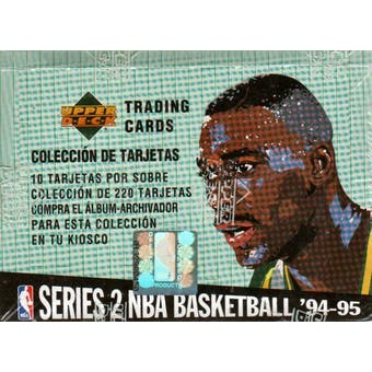 1994/95 Upper Deck Collector's Choice Series 2 Spanish Basketball Box
